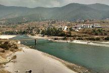 Punakha, Bhutan / http://krishnandusarkar.com/the-old-capital-punakha/