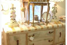 Painted finishes / Artist painted vintage furniture, custom pieces done by master artist.
