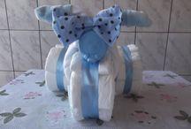 decoração para festa de bebê
