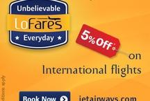 Jet Airways Coupon codes