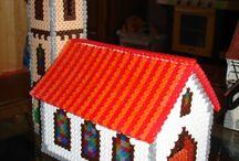 Casas hama beads