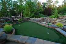 Toby's putting green