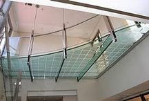 Glass - Staircases, Floors & Roofs / Create the WOW factor with a glass walkway