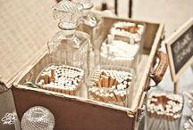 Mesa tabaco boda