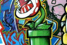 Graffiti a kresby