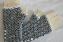 sewing, knitting, crocheting
