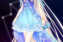 Charakter girls anime