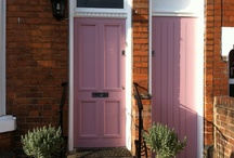 Colourful front doors / Colourful front doors that I have spotted around and about...