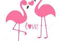 Flamingos for Mikey