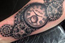 steampunk mandala tattoo
