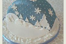 vianočne torty