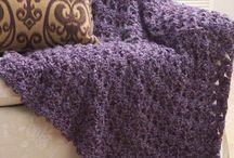 crochet rugs etc