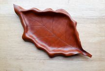 Moulded leather