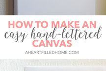 diy canvas