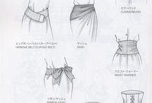 dessin de vêtements