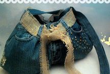 Denim Upcycle Projects / Things to make with old jeans and denim