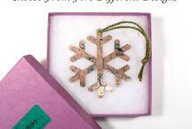 Circuit Board Christmas Tree Decorations