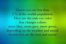 Green eye facts