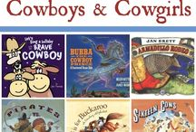 Cowboy &a cowgirl  books for year 2 age 6