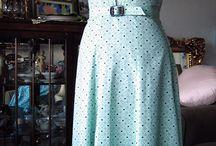 Design Styles: 1940's dresses part 3