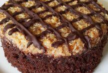 çikolatalı kekler