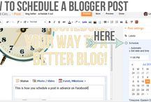 Blogging Tips and Hints / A collection of helpful blogging hints and tips / by Oil&Butter