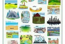 Vocabulary - Landscapes