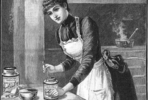 Victorian Maid Ideas / Most of these photos look like Edwardian era maids. I'm assuming the outfit didn't change that much from Victorian times.