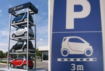 Cool Parking Lots / Creative and innovative ideas for parking lots.