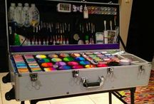 face painting equipment