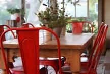 My red kitchen