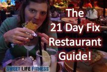 21 day resurants / by Katie Johnson-Rollefson