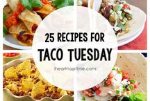 It's Taco Tuesday! / Here are some yummy taco recipes!