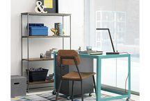 ESTUDIO / Encuentra en este tablero ideas nuevas para tu escritorio, zona de estudio o zona de trabajo.
