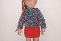moje háčkování a pletení pro panenky / my crochet and knitting for dolls