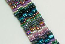 Peyote stitch beadwork