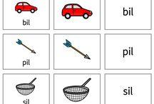 Inprint/ bilde tavler/ tegn/ tegnspråk