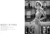 """★ Press Brigade Mondaine in ZEPHYR Magazine ★ / Brigade Mondaine press in Zephyr Magazine """"Midday in Paris"""" by Katja Kat photography http://www.brigademondaine.fr  Model Petra Kálmán @ City models"""