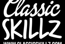 CLASSIC SKILLZ WEAR / Streetwear streetart clothing graficdesign graphisme logo lines