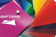 Colores y textura en lonas