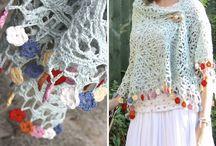 Bufandas/Cuellos/Chal de crochet / by Mochuela