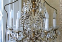 Chandeliers / by The Purple Painted Lady ~ Tricia Kuntz