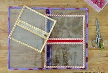 weaving  knittng stitch together