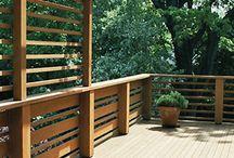 girl's bedroom deck