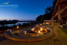 Kings Pool Camp - Botswana - Wilderness Safaris / Kings Pool Camp is located in the Linyanti Wildlife Reserve, a vast private concession in the northern part of Botswana, on the western boundary of Chobe National Park. The accommodation here is luxurious, the wildlife spectacular.
