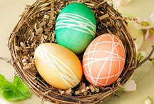 Easter / Easter is such a pretty and friendly holiday. I love to see colourfull eggs spread over the house, and adorable bunnies poke their heads out of mysterious hiding spots.