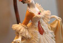 Porcelanowe damy