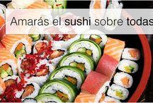 Los 10 stampy-mandamientos del sushi / Porque el sushi merece todos nuestros rezos.  Por eso. Porque nos encanta. Y.