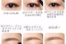 眉毛描き方