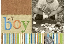 a scrapbooking / layout ideas / by Janet Hromcik